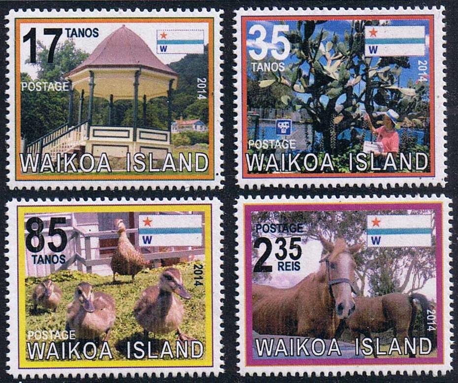 Waikoa Island 2014 Pictorial stamps