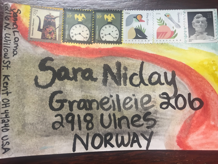 Outgoing Sara Niday