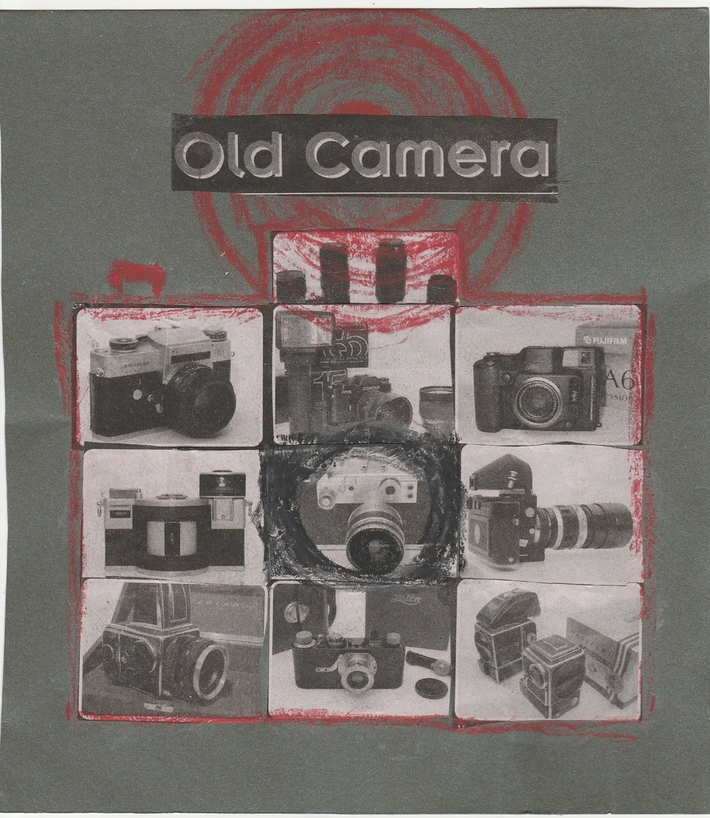 Old Camera collage