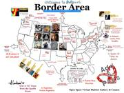 Border Area Mail Art Map