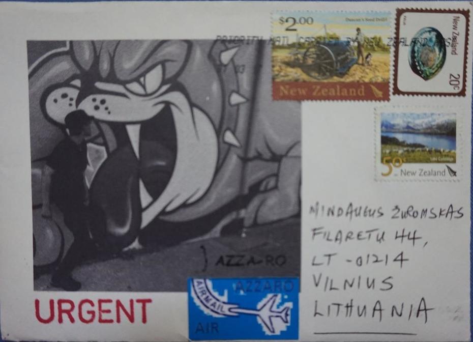 urgent Azzaro`s airmail