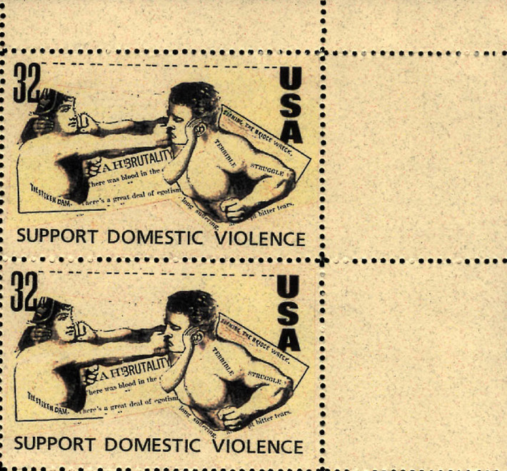 Support Domestic Violence, pair