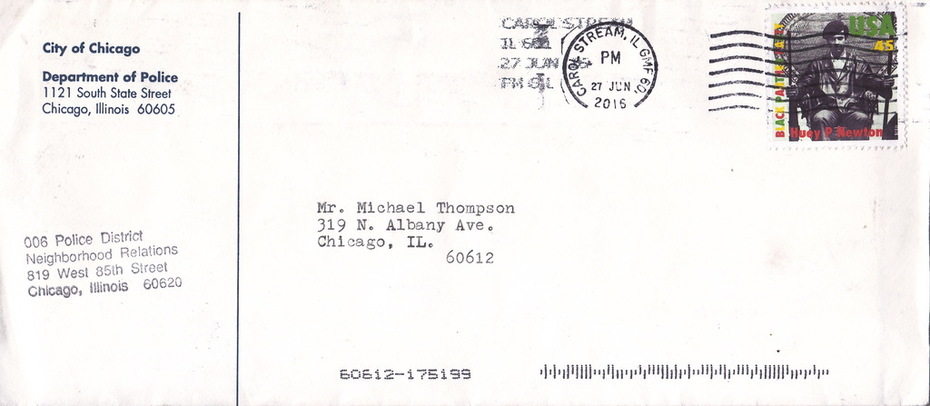 Huey Newton stamp