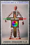 - CAVELLINI ARTISTAMP, card di Giovanni Bonanno 2017.