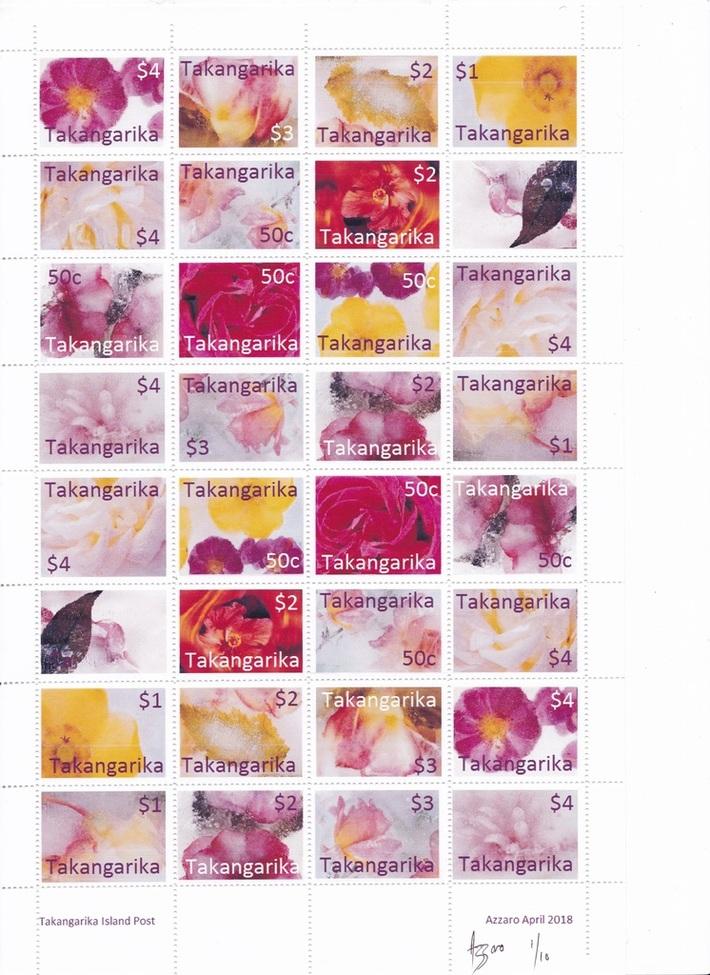 Takangarika Ice Flowers