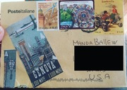 Mail from Lorella C today!