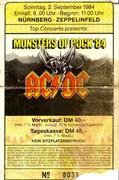 MONSTERS OF ROCK 1984