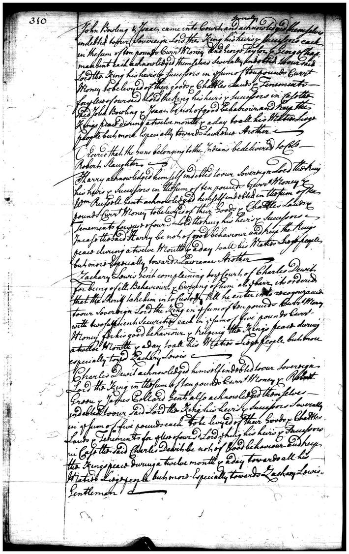 Page 310 Orange County Court Records