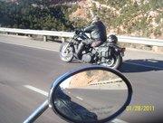 Riding up Ute Pass