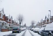 Snow covered street!