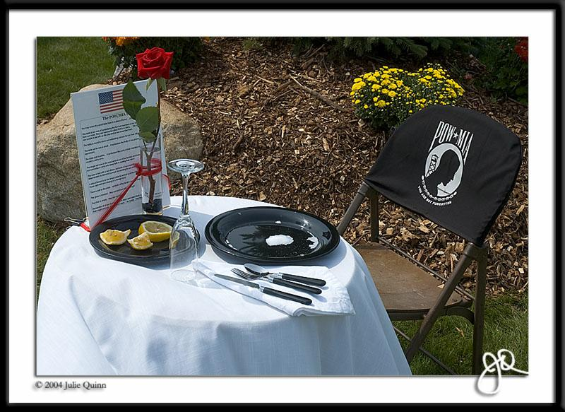 Terrific The Pow Mia Table At Every Galley And At The Navy Day Ball Download Free Architecture Designs Intelgarnamadebymaigaardcom