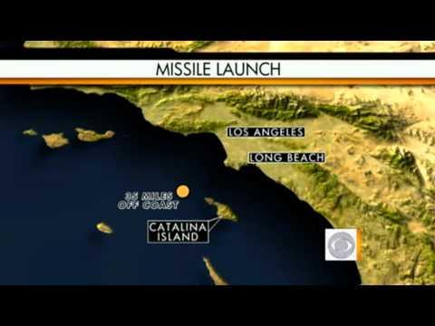 Illuminati Games - Missile Launched Off Calif. Coast at Faultline