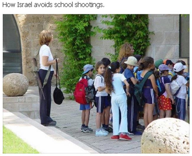 How Israel Avoids School Shootings
