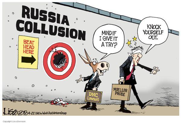 "Russian Collusion"" Hits a Wall"