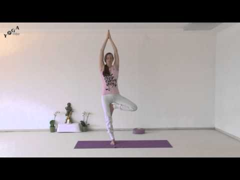 Standing Sequence - Yoga Tree, Airplane and Dancer Natarajasana