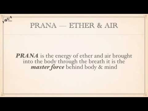 Subtle Energies of the Mind - Prana: Tejas: Ojas