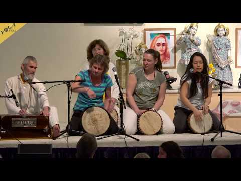 Devi Kirtan - Jaya Jagadambe by Bernardo and his Drumming Group