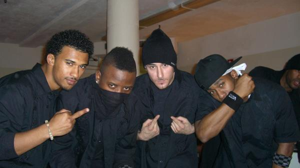 Backstage Soul Train
