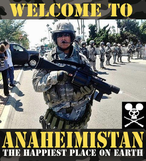 Welcome to Anaheimstan