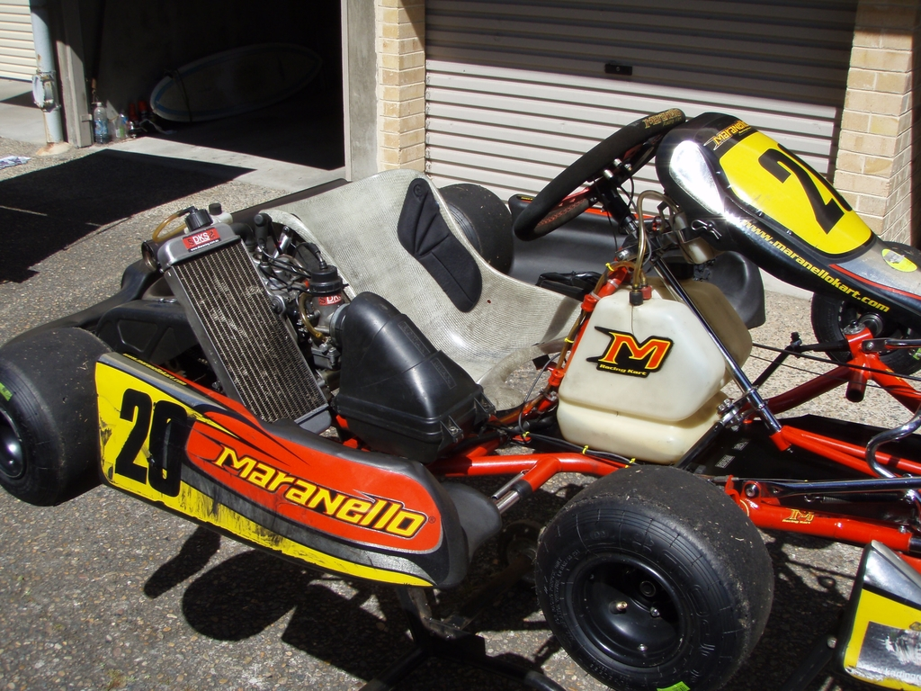 Go Kart Maranello and Rotax package - Great condition - Kartbook