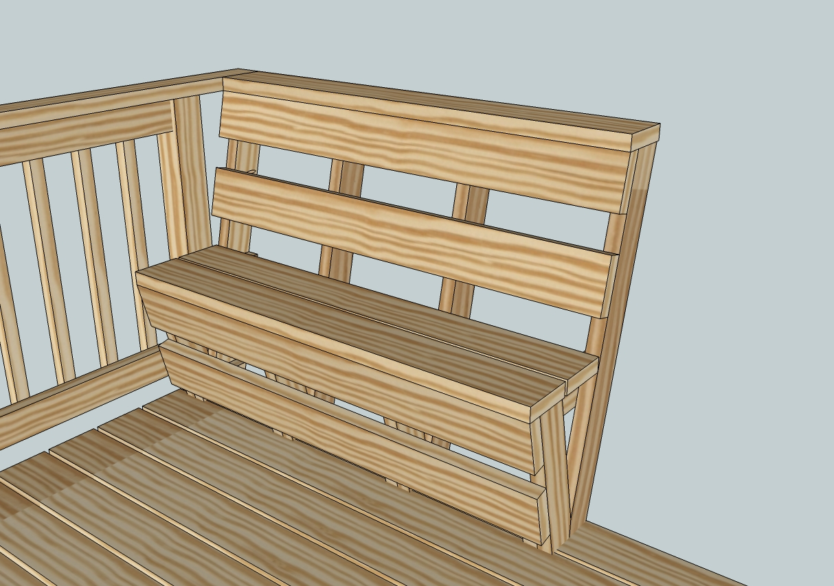 Deck Bench Plans Free Marcuscable Com