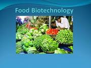 BT404 Food Biotechnology