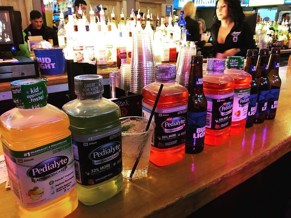 Beat Your Monday Hangover With Pedialyte