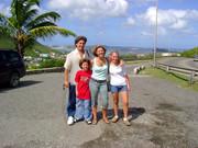 family in Sint Maarten