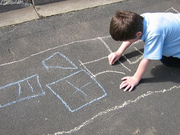 chalk characters