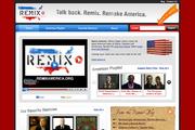 Remix America site