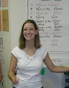 Teacher Jennifer Asp