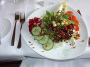 German Salat plate