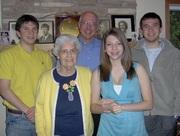 D Evanson + 3 kids + Rita