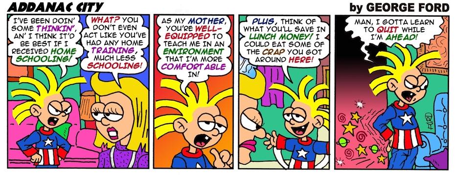 Addanac City comic strip 137
