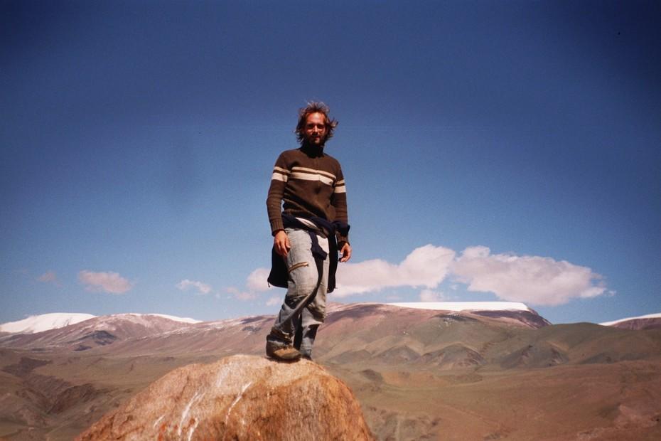 Kolja im Altai