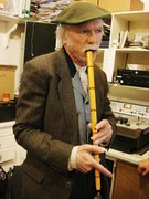 Famous musician of mongolian flute Tsuur