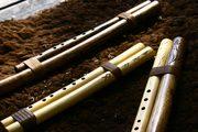 double flutes / bordun flutes