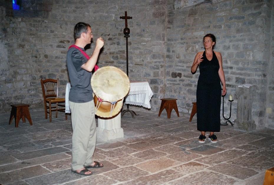 Auzial 2005 with Silvia