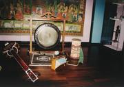 Klang-Set im Museum