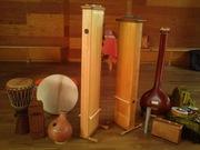 Monochord, Tanpura, Rhythm....