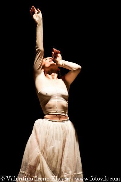 Chiara Burgio  butoh-dancer