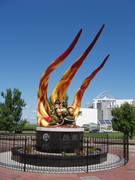 cleveland fire memorial