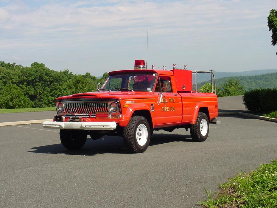 1973 Jeep Brush Truck
