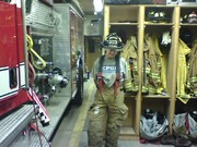 My first time in turnout gear