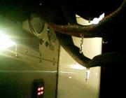 Ice on hose in jan in central FL?