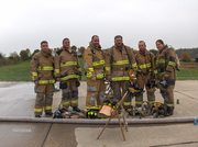 Members of the Lexington Fire Dept.