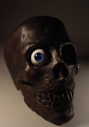 Bronze Skull With Eye