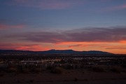 Sunset over New Mexico