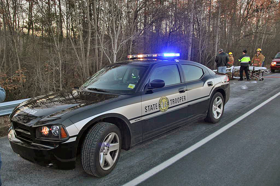 New State Trooper Car