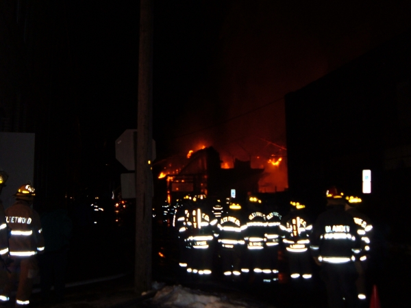 Tannery fire
